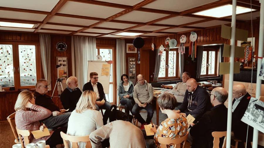 SPD-Wahlkampfworkshop im Naturfreundehaus Grötzingen