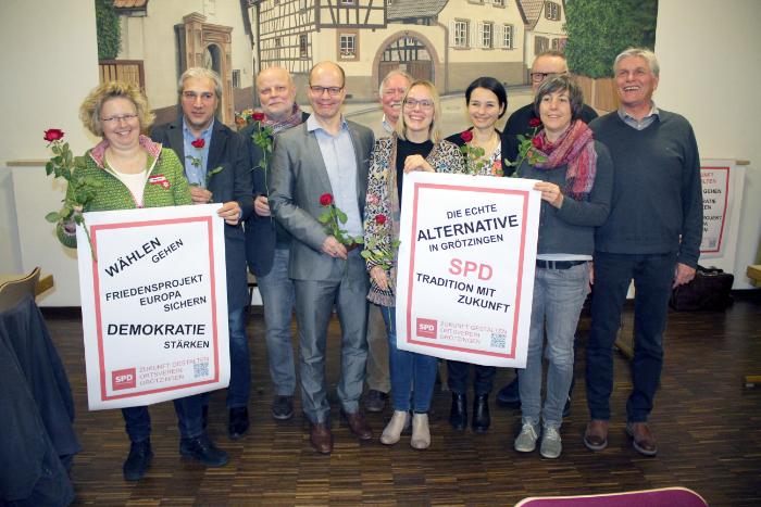 SPD Grötzingen wählt neues Vorstandsteam