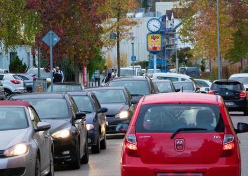 """Aktionstag """"Kein Schleichverkehr in Grötzingen"""" am 20. November 2019"""